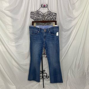 Gap 1969 NWT Boot Cut Mid-Rise Jeans. Size 31/12r